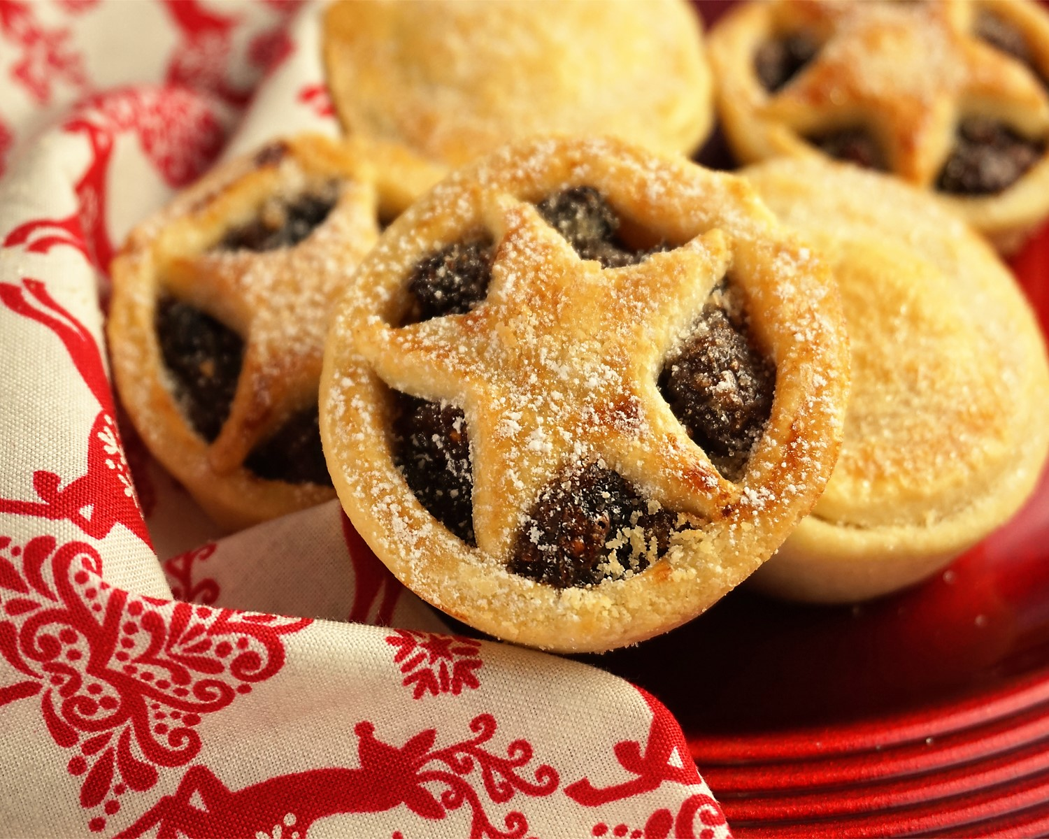 Mince Pies Made With Buttery Sweet Shortcrust Pastry