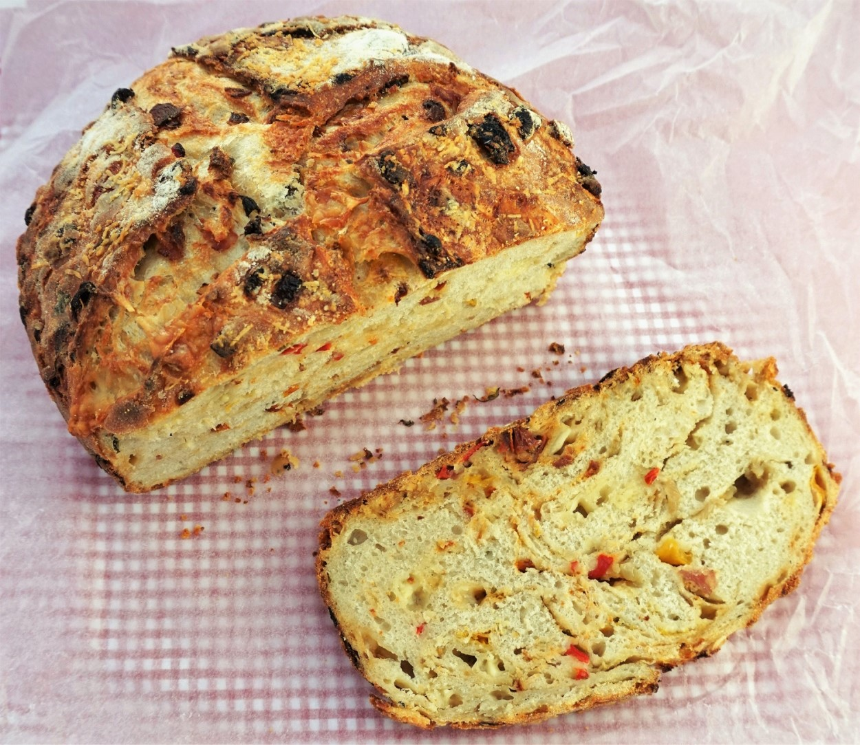 fc01f893cf4 This flavour-packed bread is great to take with you on a picnic